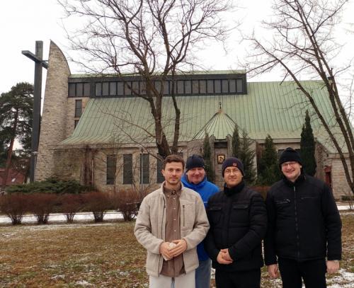 Od lewej: Juraj Zamecnik, Jan Bies, Waldemar Pawlik, Gabriel Bies.